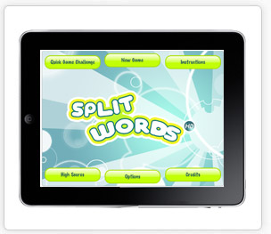 Split Words iPad